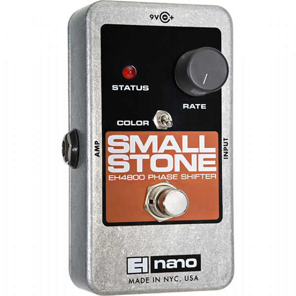 Electro Harmonix Small Stone Nano Phase Shifter Guitar Effects Pedal EHX